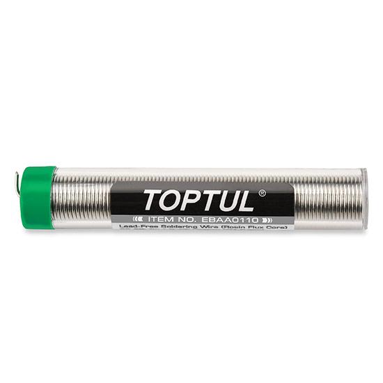 Tubo de Alambre P/ Soldar Toptul (estaño) 17Gr