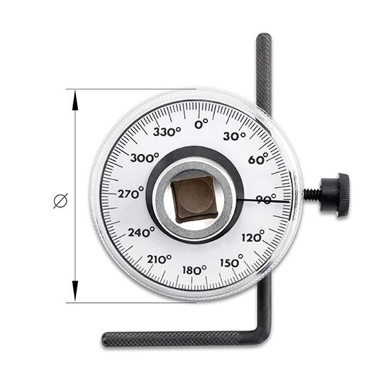 Torque Angular ( Goniometro )