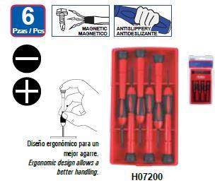 Destornillador De Precisión 6 Pz