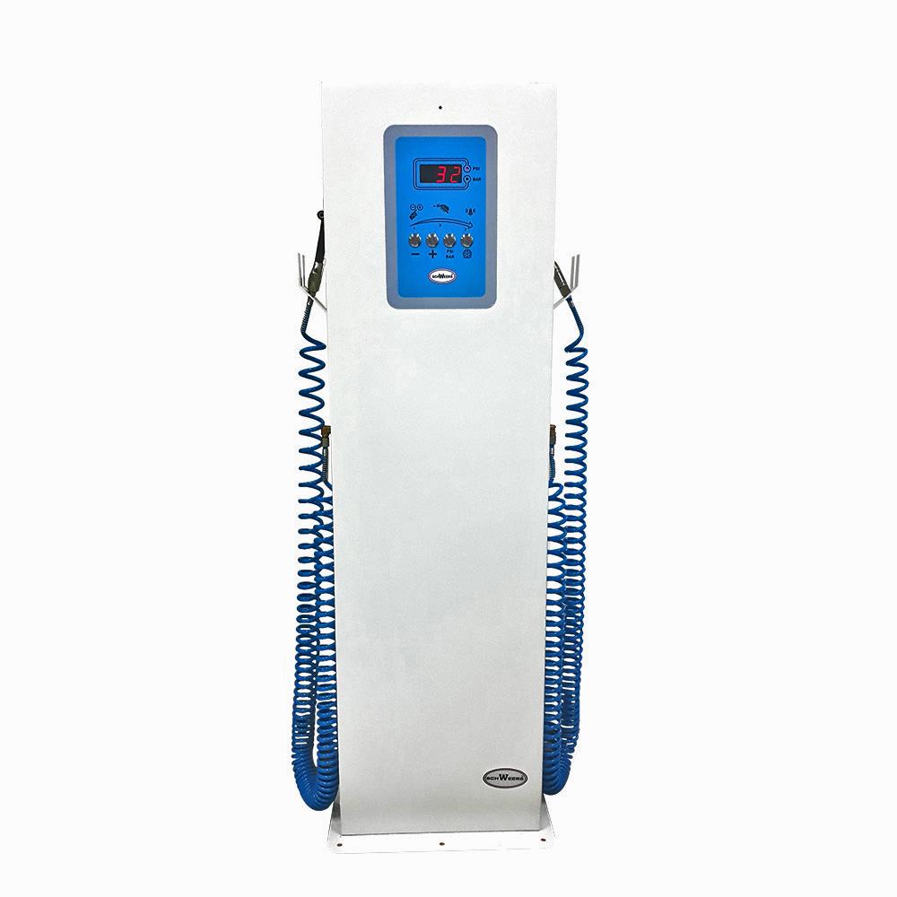 Calibrador Elec. con compresor